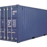 20 fot lagercontainer
